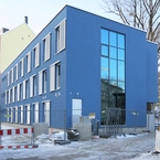Hybridgebäude Aussenansicht