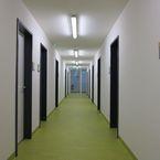 Hybridgebäude - Innenansicht Flur
