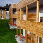 Abele Hotel & Cubes in Buchenberg - Ansicht Gartenseite