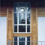Detailansicht Fassade - Bürogebäude in Grünwald