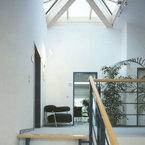 Treppenhaus mit Lichtkuppel - Bürogebäude in Grünwald