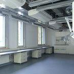Laborraum - Molekulartechnisches Laborgebäude Helmholtz Zentrums in Neuherberg