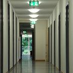 Flur im Erdgeschoss - Helmholtz Zentrum in Neuherberg