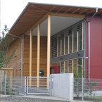 Haupteingang Kindertagesstätte in Frankfurt