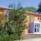 Haupteingang Kindergarten Regenbogen in Neu Ulm