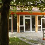 Kindergarten St. Johannes in Taufkirchen - Raumhohe Fensterelemente in den Gruppenräumen