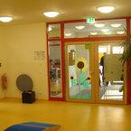 Eingangsbereich Kinderhaus Neuried