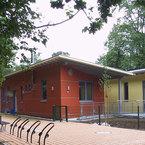 Kindertagesstätte Haar - bunte Fassadengestaltung