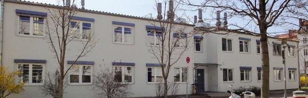Labor- und Bürogebäude des Klinikum Rechts der Isar in München