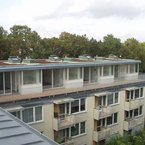 Aufstockung Mehrfamilienhaus in München - Gesamtansicht