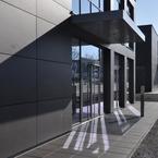3 Hörsaal- und Bürogebäude in Holz-Hybridbauweise in Aschaffenburg-Eingang