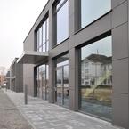 3 Hörsaal- und Bürogebäude in Holz-Hybridbauweise in Aschaffenburg-Fassade