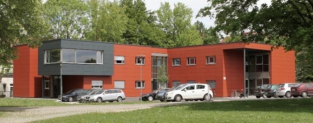 Psychiatrische Institutsambulanz Günzburg als Holzhybridbau