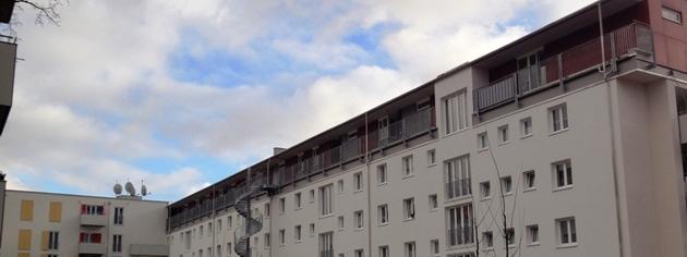 Gebäudeaufstockung einer Wohnanlage in München