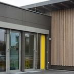 Betriebskindergarten in moderner Holz-Hybrid-Bauweise