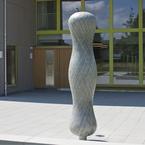 Kunst am Bau - Eingangsbereich der Kita