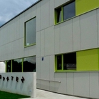 Kindertagesstättet in Systembauweise - München, Waldwiesenstrasse