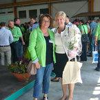 Landtagsabgeordnete Frau Angelika Schorer und Frau Margot Schindele