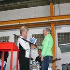 Landtagsabgeordnete Frau Angelika Schorer und Frau Christine Machacek