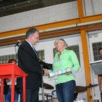 stellvertr. Landrat Lars Leveringhaus und Frau Christine Machacek