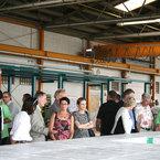 Gäste während der Produktionsvorführung
