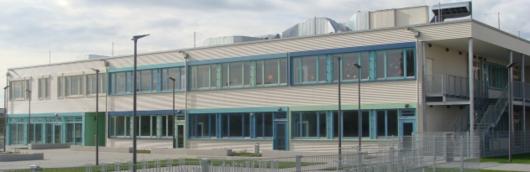 Grundschule mit Mensa als Hybridbau in München