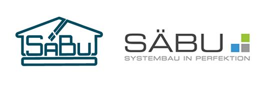 Das neue SÄBU-Logo - Systembau in Perfektion