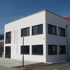 Bürogebäude in Hybridbauweise