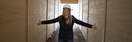 Als Bauleiter bei Säbu-Holzbau: zwischen Hochschul-Hörsaal, Tischkicker und neu entdeckter Liebe zu Mathe und Physik