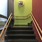 Kita Rosstal in Hybridbauweise - Treppe