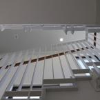 Gemeinschaftsschule Hüttlingen in Hybridbauweise - Treppe