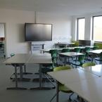 Gemeinschaftsschule Hüttlingen in Hybridbauweise - Klassenzimmer