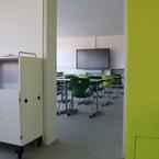 Gemeinschaftsschule Hüttlingen in Hybridbauweise - Werkraum