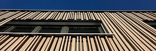 Holz-Hybrid-Pavillion in München