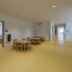 Kita als Holz-Hybridbau - Flur Obergeschoss